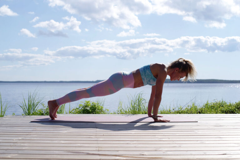 Finding your exercise groove - plank